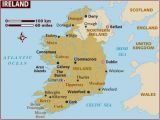 Where is Connemara In Ireland On A Map Map Of Ireland