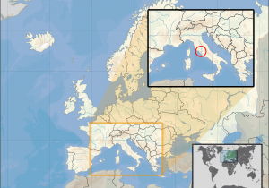 Where is Croatia Located On A Map Of Europe atlas Of Vatican City Wikimedia Commons