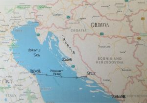 Where is Croatia Located On A Map Of Europe Map Of Italy and Croatia Secretmuseum