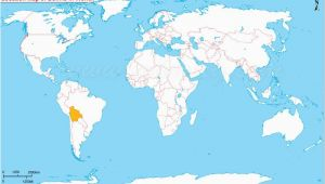 Where is France Located On the World Map where is Bolivia south America the Great Blank World Map Map