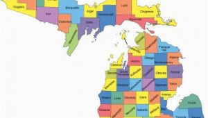 Where is Jackson Michigan On A Map Michigan Map with Counties Big Michigan Love Michigan Map Guns