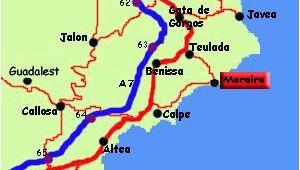 Where is Javea In Spain On A Map Moraira Spain Moraira Spain Spain Destinations Javea