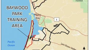 Where is Los Osos California On A Map Baywood Park Training area