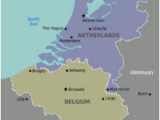 Where is Luxembourg Located On A Map Of Europe Benelux Wikipedia