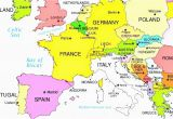Where is Luxembourg On A Map Of Europe 36 Intelligible Blank Map Of Europe and Mediterranean