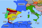 Where is Malta On A Map Of Europe Spain On the Map Of Europe