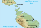 Where is Malta On A Map Of Europe topographic Map Of Malta Draw It to Know It In 2019