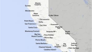 Where is Mammoth Lake California On Map Maps Of California Created for Visitors and Travelers