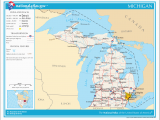 Where is Michigan On A Map Datei Map Of Michigan Na Png Wikipedia