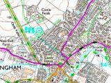 Where is Milton Keynes On Map Of England Map Of Milton Keynes Buckingham Os 192 Explorer Map Leighton