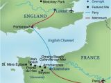 Where is normandy In France Map D Day A Journey From England to France Smithsonian Journeys