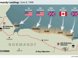 Where is normandy In France Map D Day normandy Landings Map Wwii Europe 1944 D Day normandy