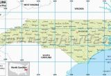 Where is north Carolina On A Map north Carolina Latitude and Longitude Map Projects to Try