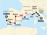 Where is Rome Georgia On A Map Rome to Lisbon On A Shoestring In Spain Europe G Adventures