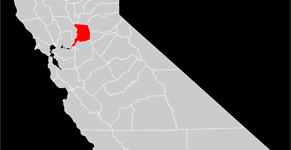 Where is Sacramento In California On Map File California County Map Sacramento County Highlighted Svg