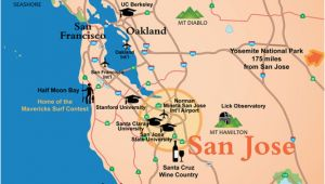 Where is San Jose California On the Map San Jose Ca Official Website Maps