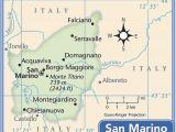 Where is San Marino Located On A Map Of Europe San Marino Information and Geography