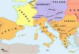Where is Slovenia On A Map Of Europe which Countries Make Up southern Europe Worldatlas Com