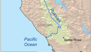 Where is sonoma California On the Map Map Of Russian River Places I Have Been