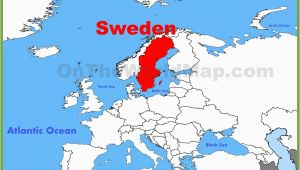 Where is Sweden Located In Europe Map Capital Of Sweden On Map Download them and Print