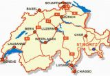 Where is Switzerland On A Map Of Europe Awesome Map Of Switzerland tourist Travelquaz Map Of