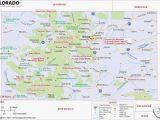 Where is Telluride Colorado On A Map Coronado Springs Map Luxury Colorado Springs Map Unique Colorado Map