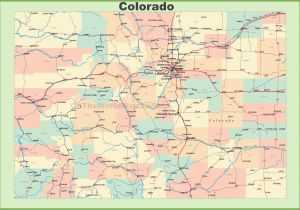 Where is the Colorado River Located On A Map United States Map ...