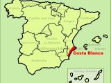 Where is the Costa Brava In Spain On A Map Costa Blanca Maps Spain Maps Of Costa Blanca