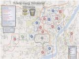 Where is toledo Ohio On A Map the Blade Obtains toledo Police Department S Gang Territorial