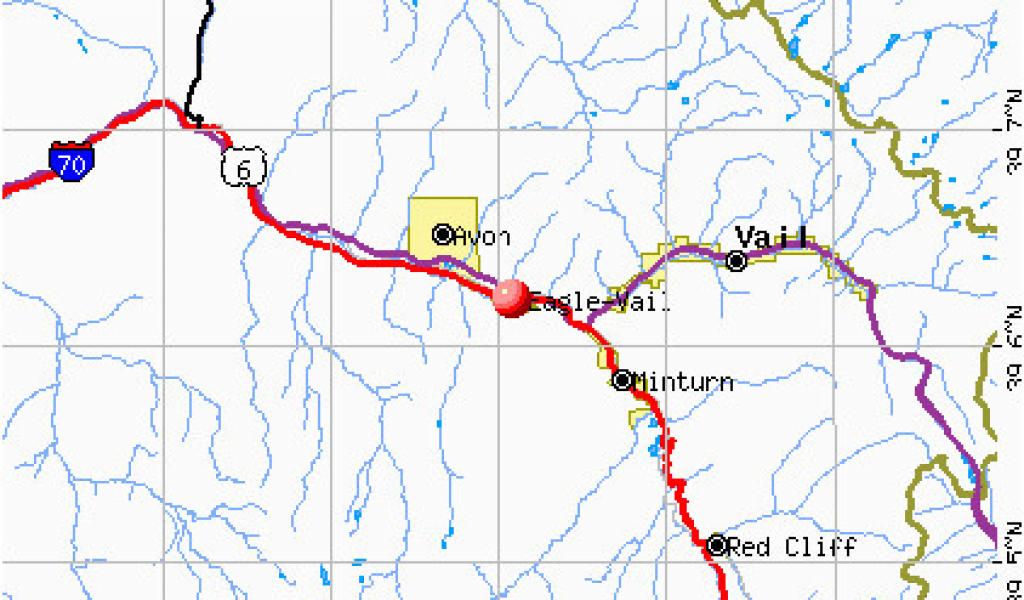 Where is Vail Colorado On the Map Eagle Vail Colorado Colorado Map ...