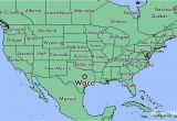 Where is Waco Texas On Map where is Waco Texas Located On the Map Business Ideas 2013