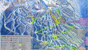 Whistler Bc Canada Map Blackcomb Mountain Skiing Whistler British Columbia Canada