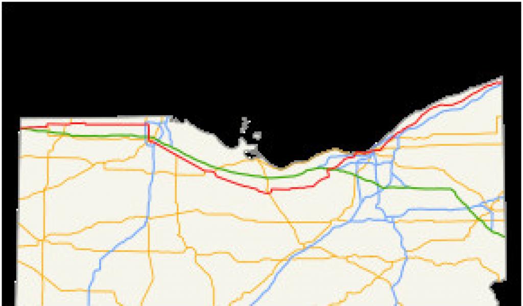 Wickliffe Ohio Map U S Route 20 In Ohio Wikivisually ...