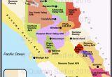 Windsor California Map California Map Of Cities California Wine Appellation Map