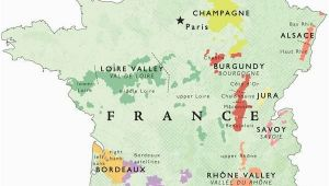 Wine Country France Map Wine Map Of France In 2019 Places France Map Wine Recipes