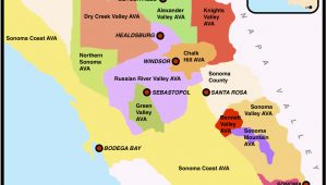 Wine Regions Of California Map oregon Wine Country Map New sonoma Valley Maps Directions