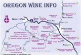 Wineries In oregon Map oregon Wine Regions Map Secretmuseum