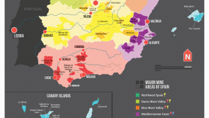 Wines Of Spain Map Map Of Spanish Wine Regions Via Reddit Wein In 2019 Essen Und