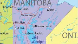 Winnipeg On Canada Map Winnipeg Manitoba Saskatchewan and Manitoba Canada Travel Map