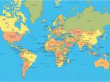 World Map Showing England Political Map Of the World A World Maps World Map with