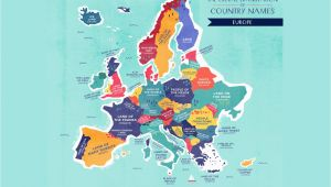 World Map Showing Italy World Map the Literal Translation Of Country Names