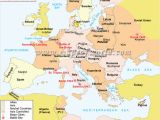 World War Ii In Europe and north Africa Map Wwii Map Of Europe Worksheet