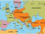World War One Map Of Europe First World War In Maps
