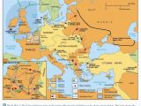 Ww1 Maps Of Europe Map Illustrating some Of the Major Battles Of Wwi World