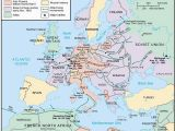 Ww2 Map Of Europe and north Africa World War 2 Map In Europe and north Africa Hairstyle