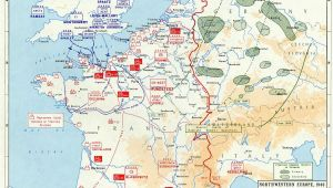 Ww2 Map Of France Overlord Plan Combined Bomber Offensive and German Dispositions 6