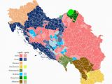 Yugoslavia Europe Map Ethnic Composition Of Yugoslavia In 1961 Sized by Population
