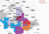 Zip Code Map Cincinnati Ohio Cincinnati Zip Code Map Awesome south Carolina area Codes Map List