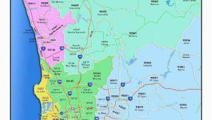 Zip Code Map Of oregon San Diego California Zip Code Map Detailed Map Portland oregon Zip