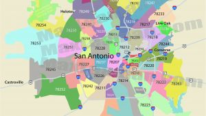 Zip Code Map Of San Antonio Texas San Antonio Zip Code Map Mortgage Resources